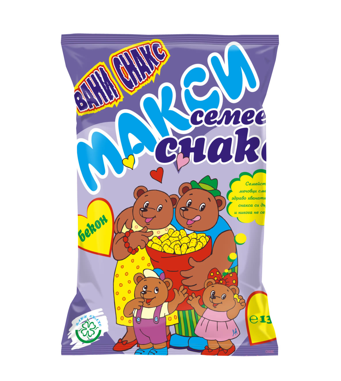Vani Snacks / Family pack - bacon